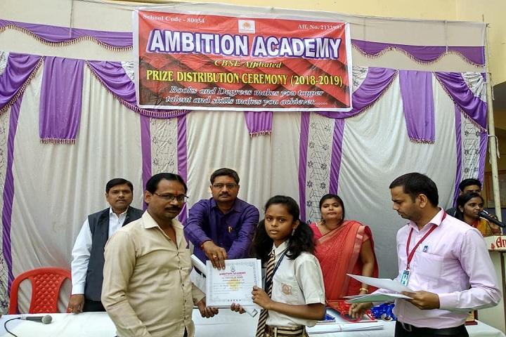 Ambition Academy - Award Receiving