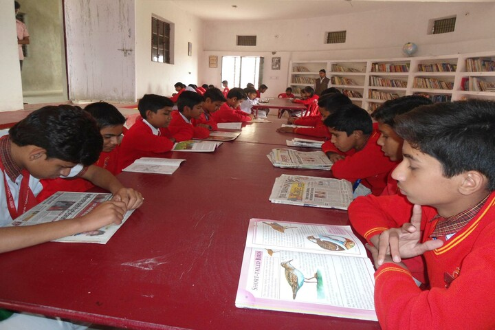 Ambition Convent School- Library
