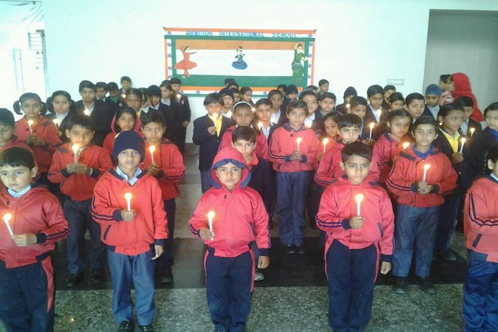 Ambition International School-Candle light Rally
