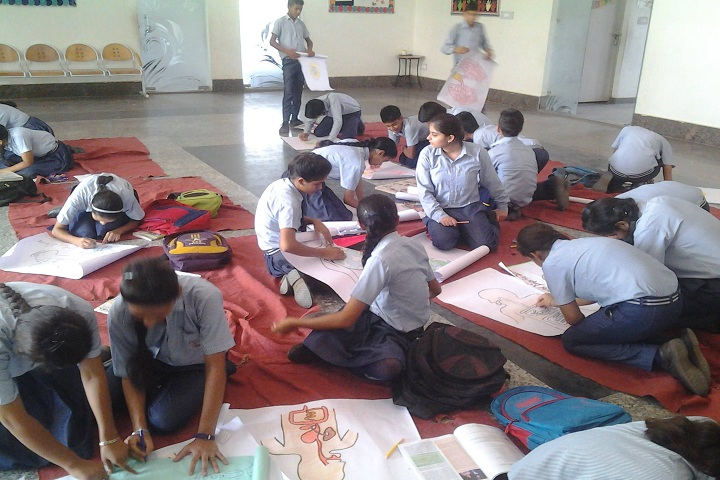 Ambition International School-Drawing Activity