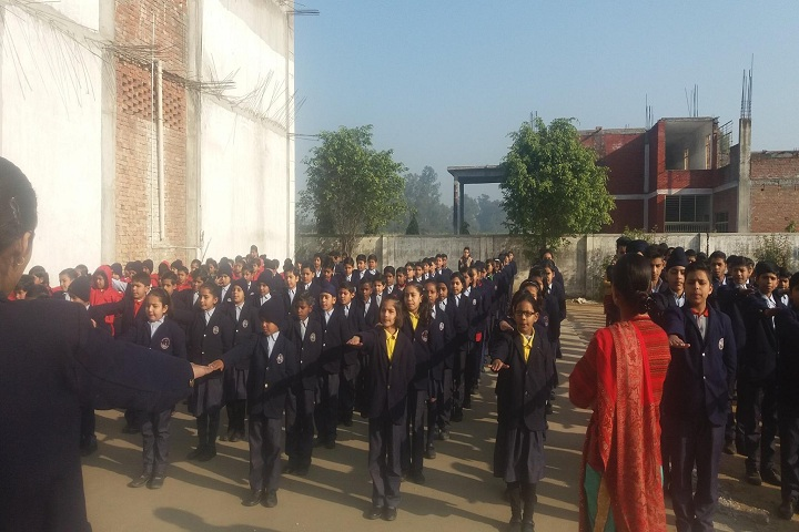 Ambition International School-Morning Assembly