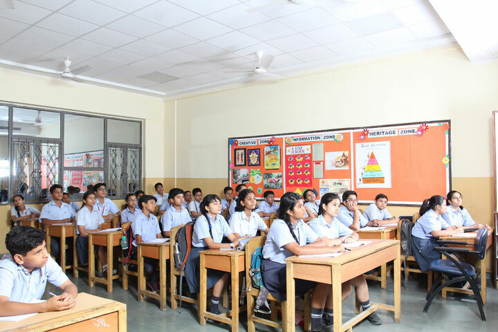 Amity International School - Middle School classrooms