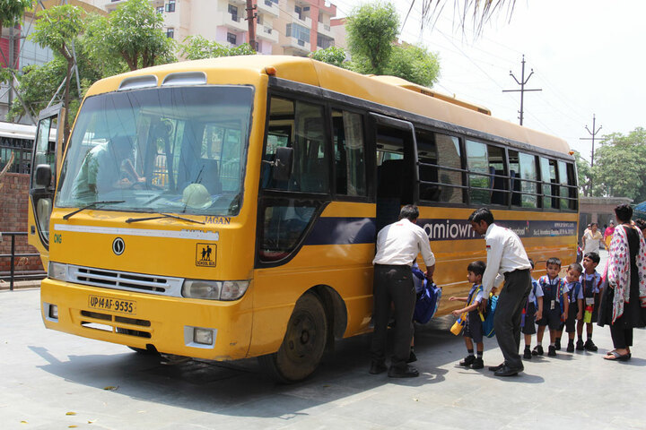 Amity International School - Transportation