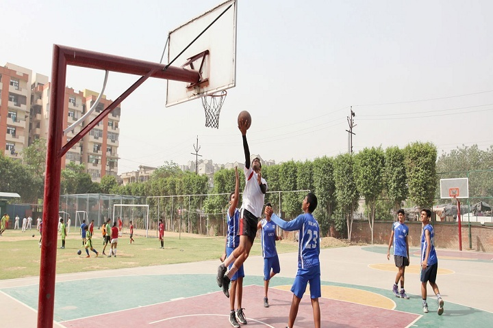 Amity International School-Basket Ball Court
