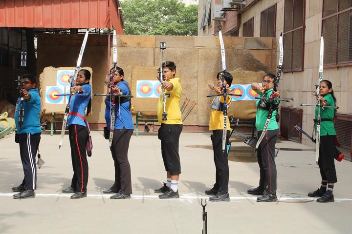 Amity International School - Archery