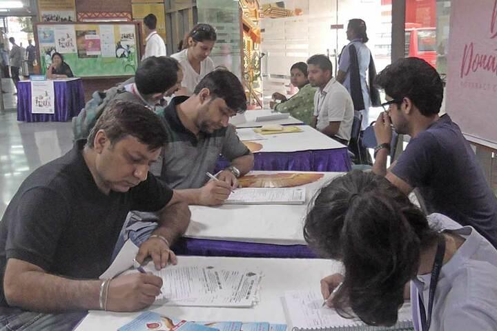 Amity International School - Form filling Day