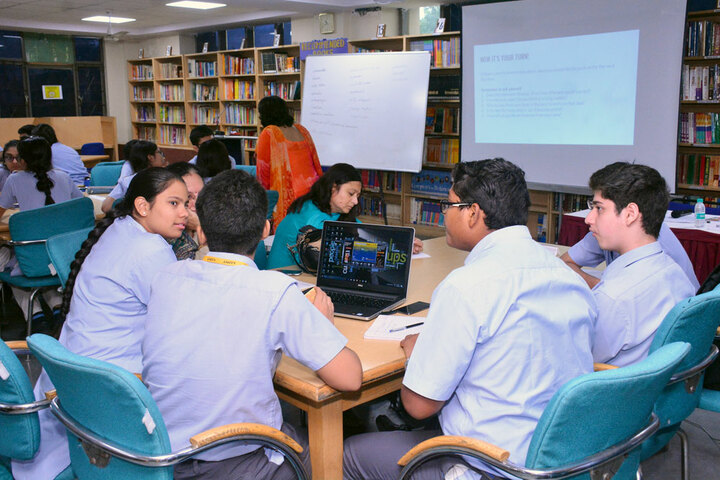 Amity International School - Group Discussion