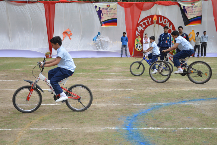 Amity International School - Cycling Competition