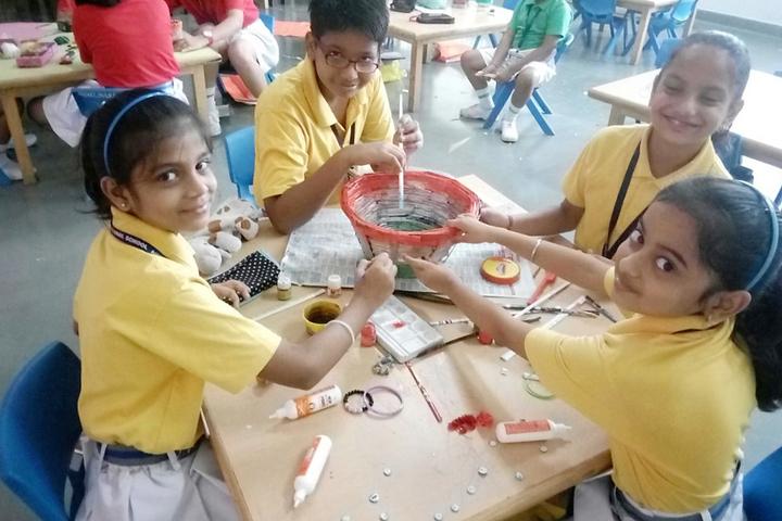 Amity International School - Drawing Activity