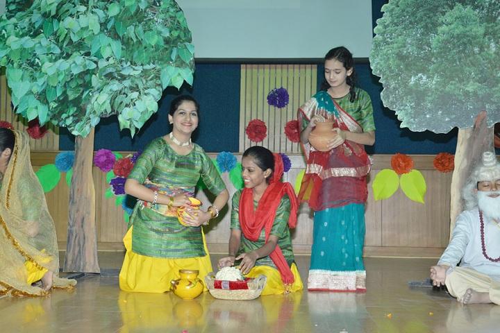Amity International School - Sankaranthi Celebrations