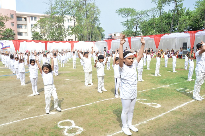 Amity International School - Yoga Activity