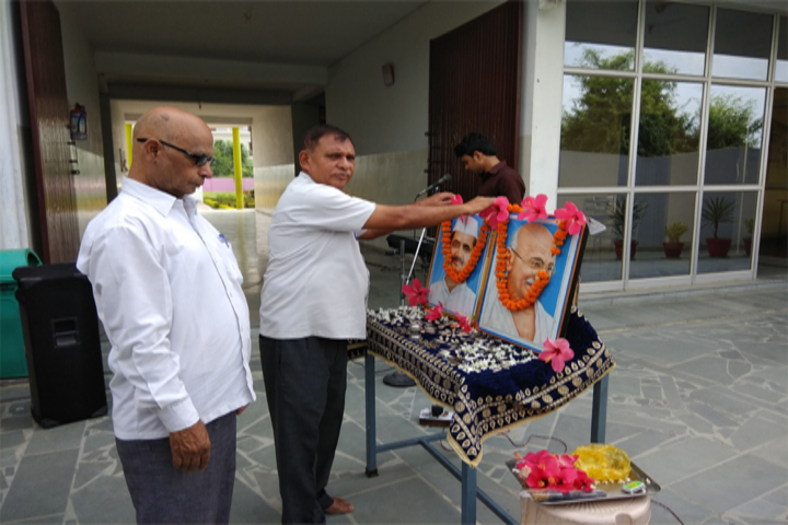 Amrit Memorial Higher Secondary School- Gandhi Jayanti Celebration