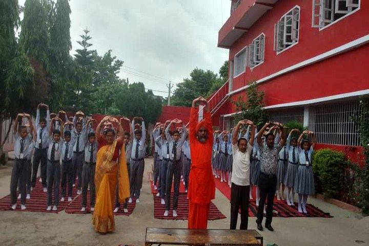 Sacred Heart School-Yoga Day