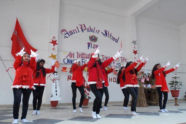 Amrit Public School-Christmas Celebration