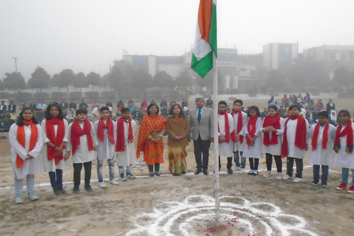 Delhi Public Global School-Republic Day