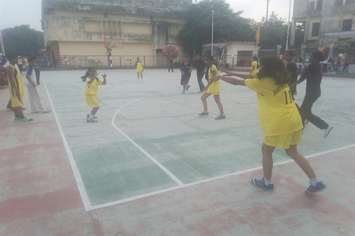 Anand Memorial Academy - Basket Ball Court