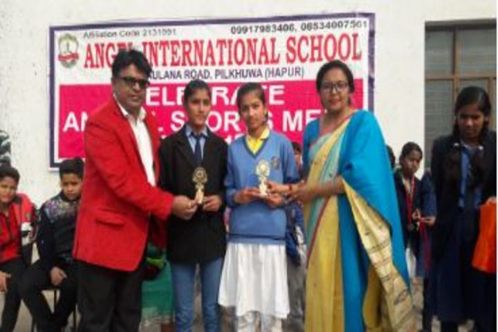 Angel International School-Prize Distribution