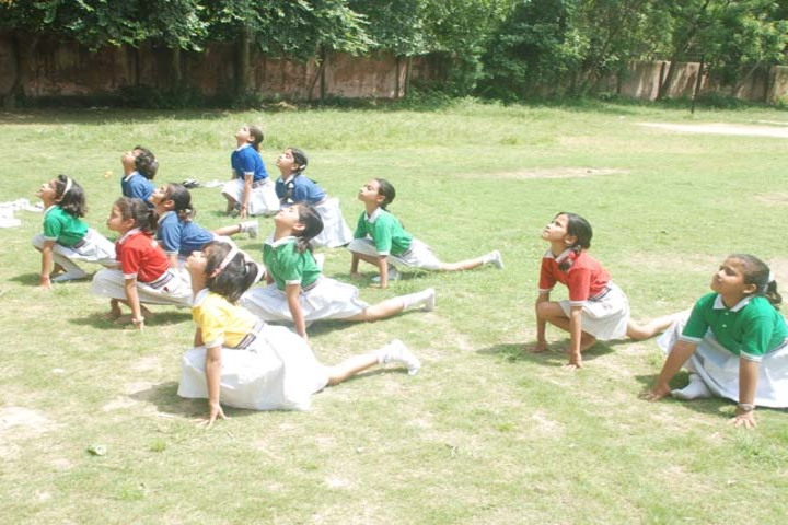 Angels Public International School-Yoga
