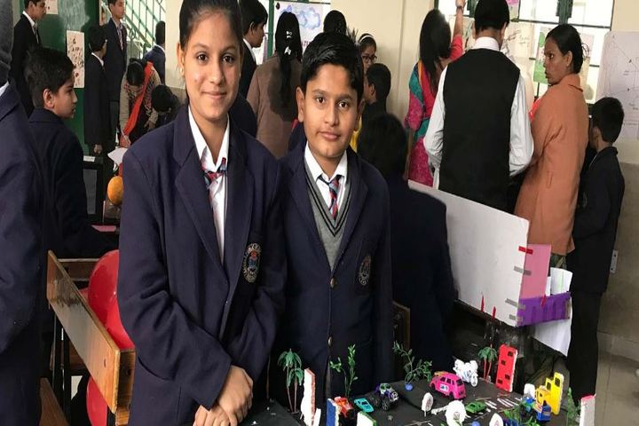 Angels Public International School-Science Exhibition