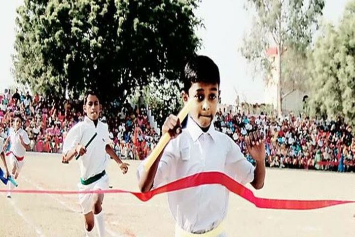 Anglo Vedic Convent School - Running Competition