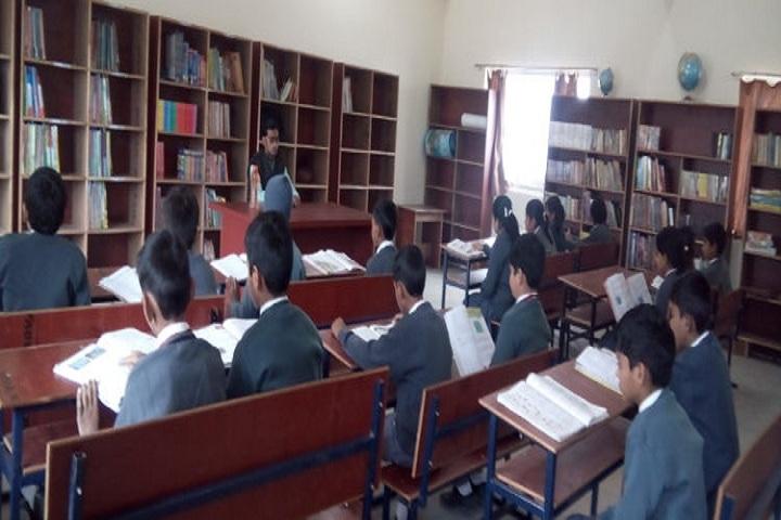 Anju Gill Academy - Library