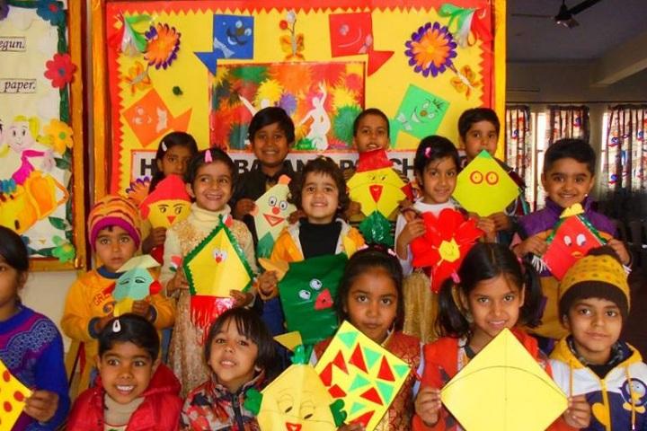 Annie Besant School - Kite Festival