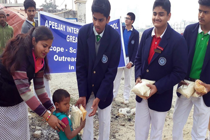 Apeejay International School - Food Donation
