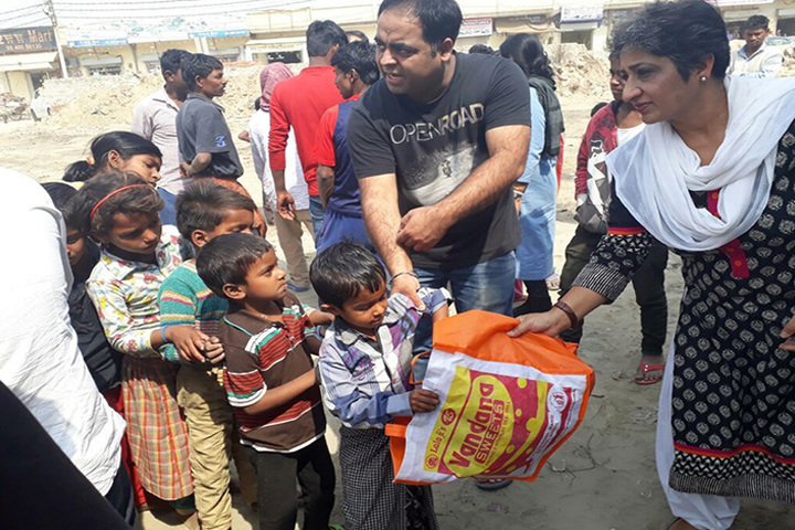 Apeejay International School - Helping Hand Towards Slum