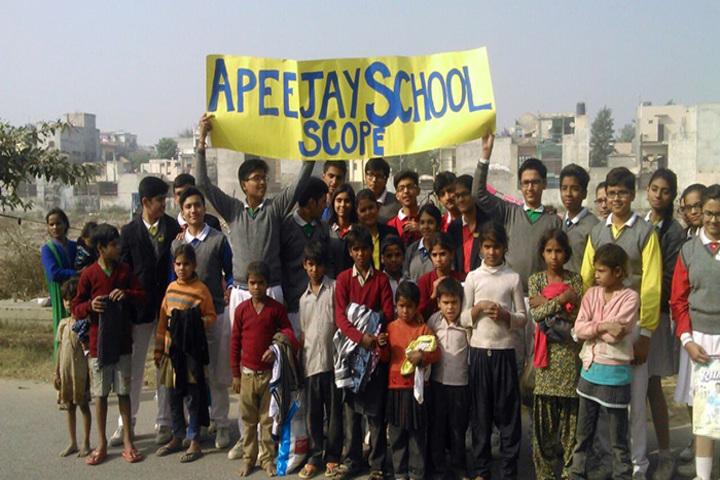 Apeejay International School - Warming Up Winter