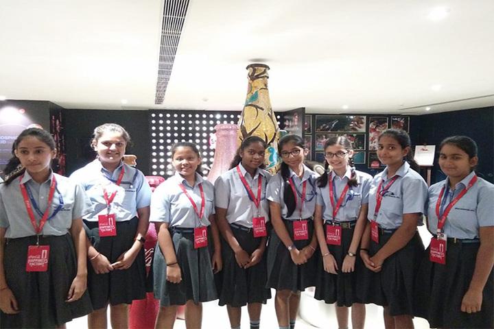 Apeejay International School- Co Co Cola Factory Visit