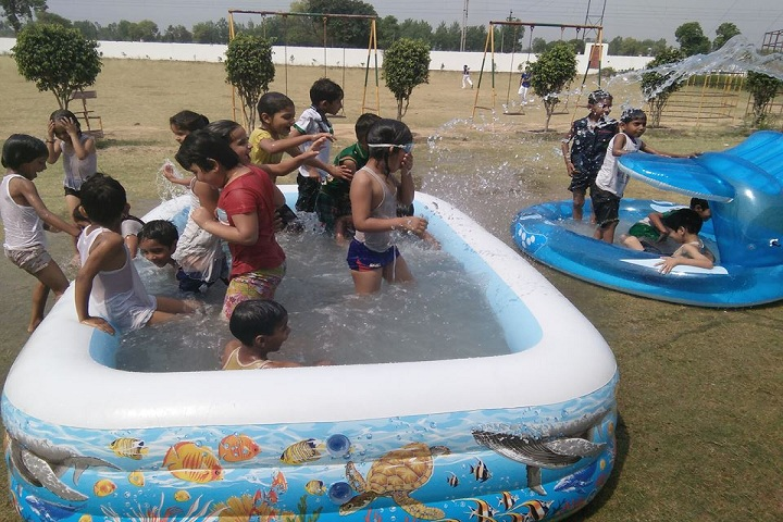 Apex International School-Swimming Activity