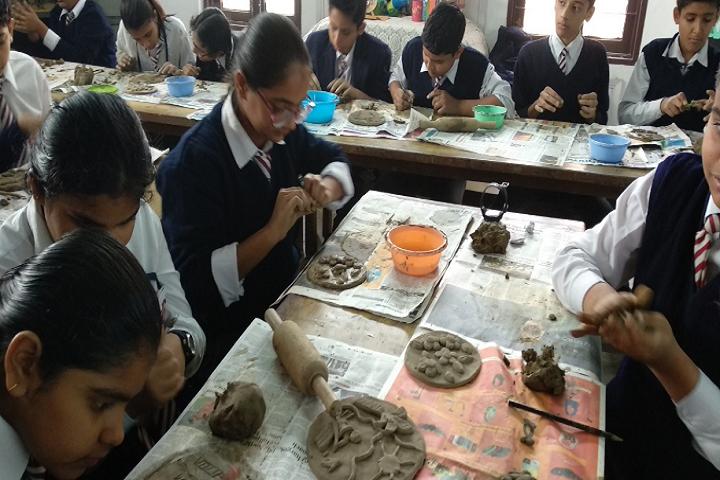 Army Public School-Clay Modelling