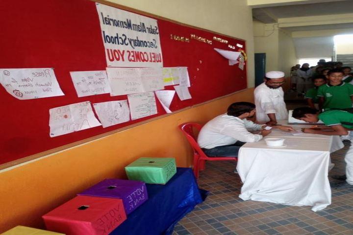 Sadar Alam Memorial Secondary School-Camp