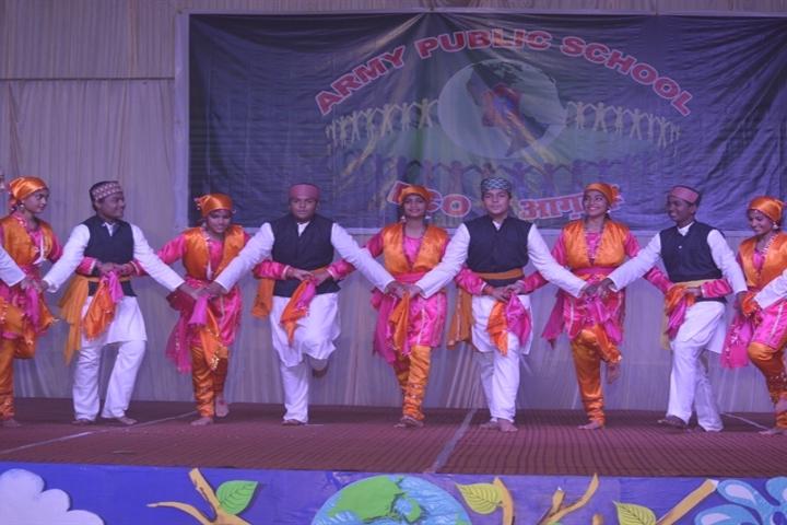 Army Public School-Dance