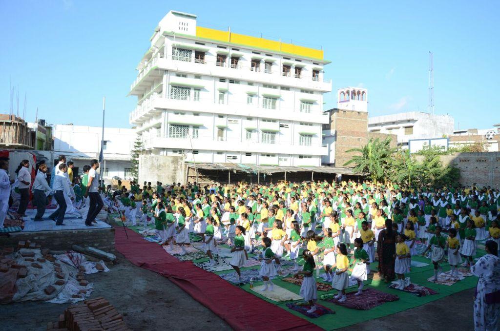 Sadhana Devi Vidyapith-Yoga Day