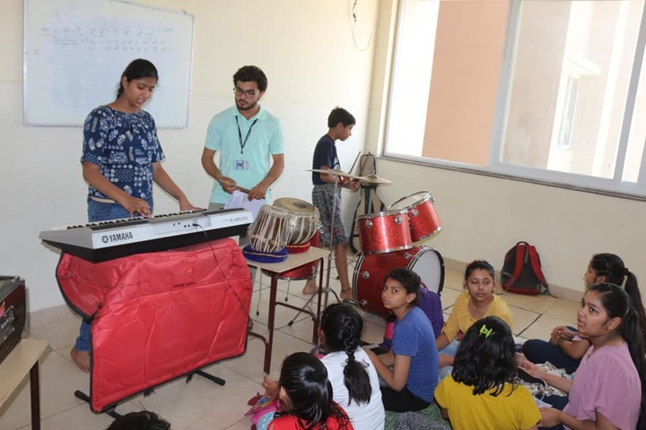 Arwachin International School-Music Room