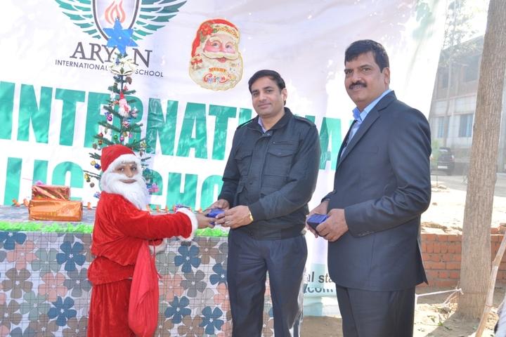Aryan International Public School-Christmas Celebrations