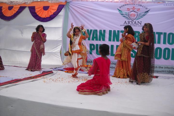 Aryan International Public School-Festival Celebrations
