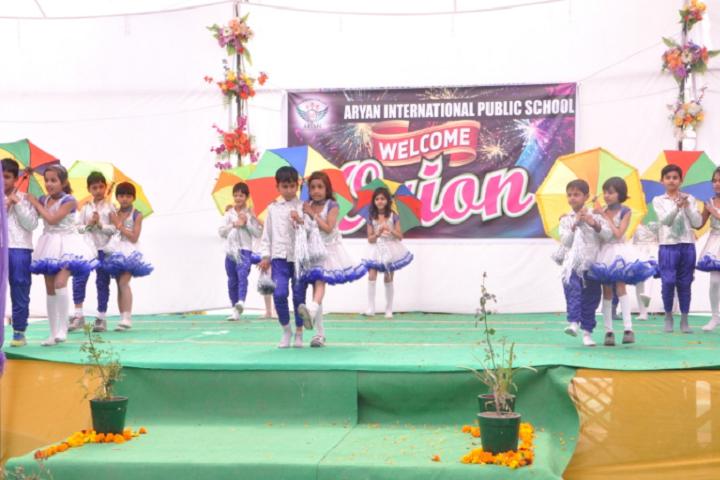 Aryan International Public School-Dancing Activity