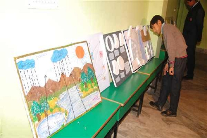 Aryan International School-Art Exhibition