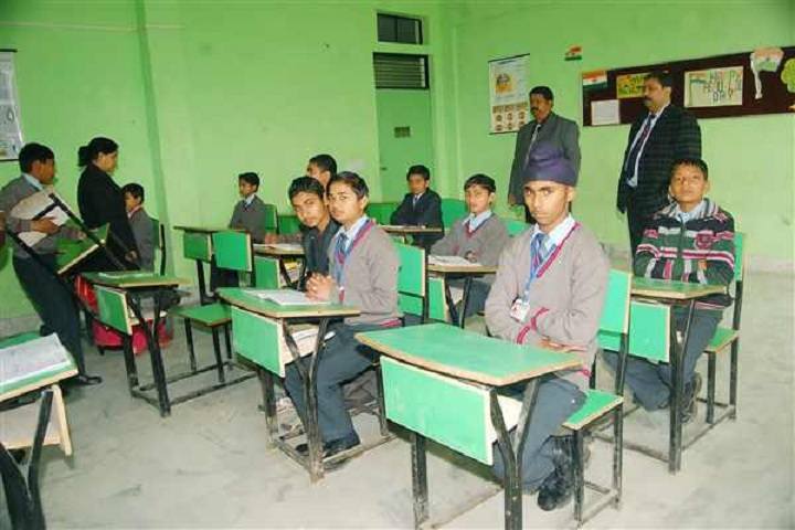 Aryan International School-Classrooms