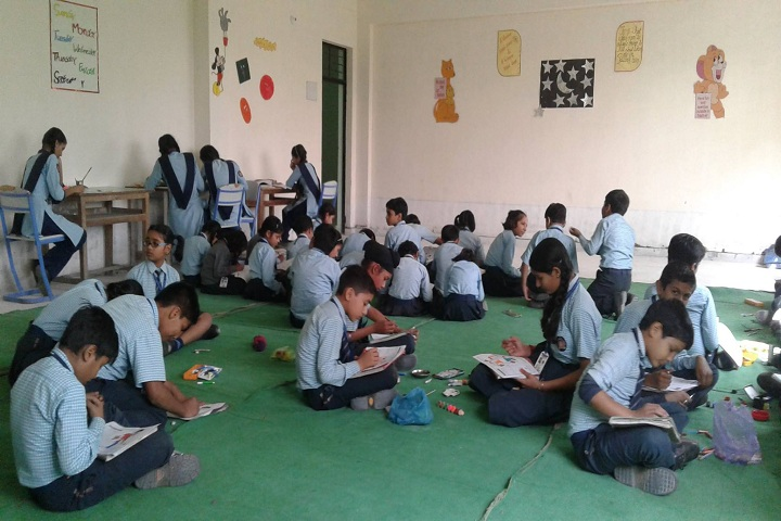 Aryan International School-Drawing Competition