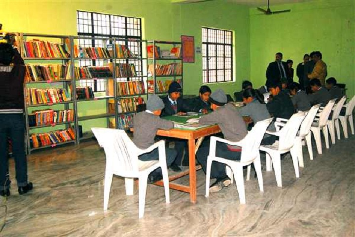 Aryan International School-Library