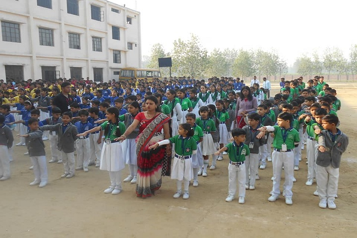 Aryan International School-Morning Assembly
