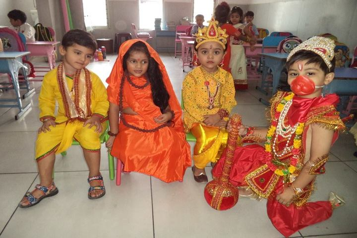 Aryans International School-Fance Dress Competition