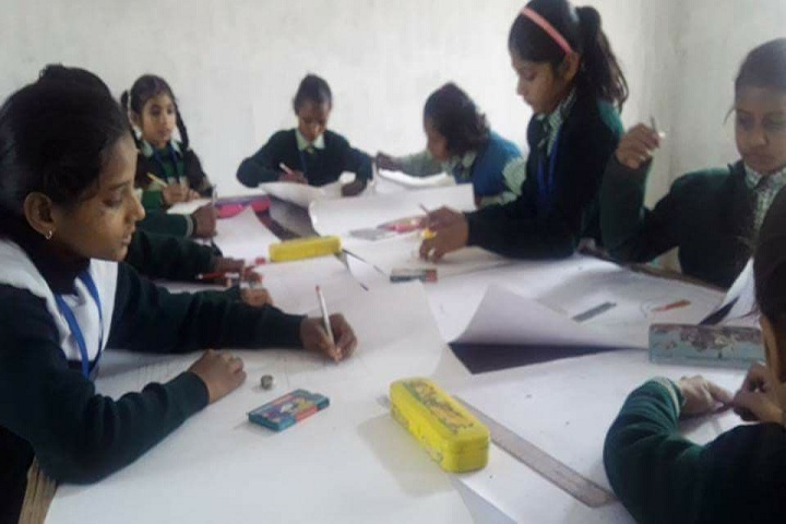 Aryavrat Academy-Drawing Competition