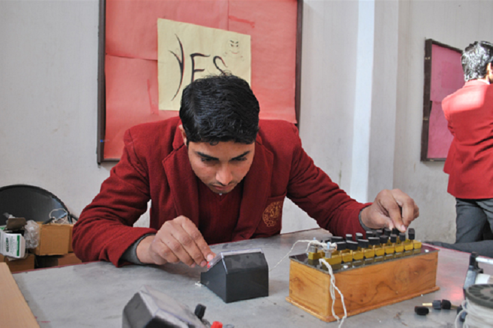 Asha Modern International School-Physics Lab