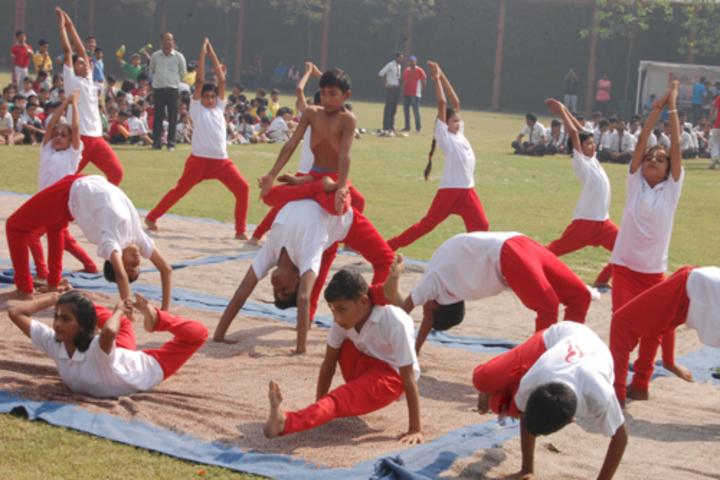 Asha Modern International School-Yoga