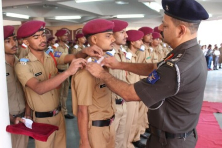 Sainik School-Students