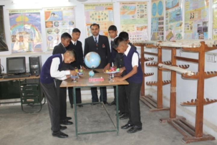 Sainik School-Geogrgaphy Lab